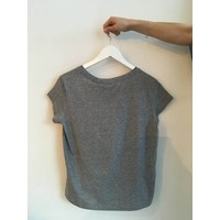 T-SHIRT HAVE TEE - GREY MELANGE
