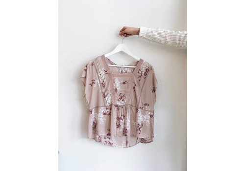 GENTLE FAWN BLOUSE CLARISSA- ROSE