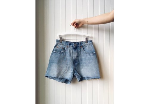 CHEAP MONDAY SHORTS DONNA- BLUE BLAZE