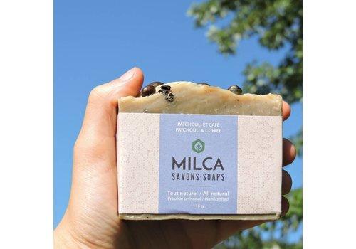 MILCA SAVONS SAVON PATCHOULI & CAFÉ