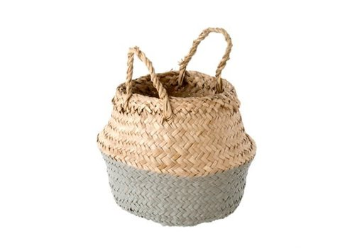 INDABA PANIER BABY BELLY GRIS
