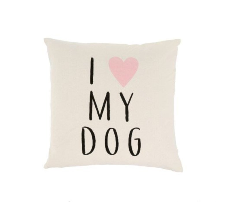 COUSSIN I LOVE MY DOG