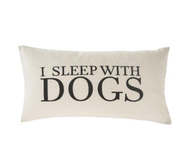 COUSSIN I SLEEP WITH DOGS