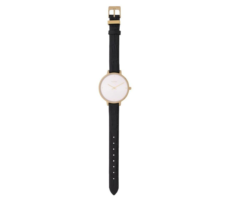 MONTRE BROOKE- NOIR & OR
