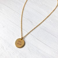 COLLIER GRL PWR- OR