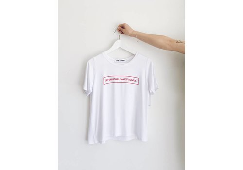 DAILYSTORY *DERNIÈRE CHANCE* T-SHIRT DIFFERENT GIRL-x-small
