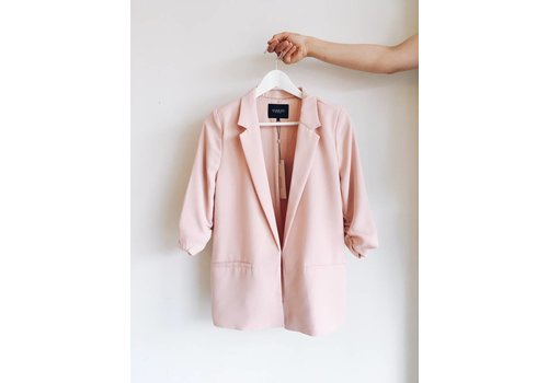 SOAKED IN LUXURY *DERNIÈRE CHANCE* VESTON SHIRLEY PALE BLUSH- SMALL