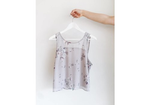 GENTLE FAWN CAMISOLE MIKA - GRIS