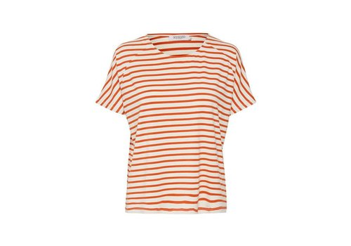 SOAKED IN LUXURY T-SHIRT VINA PUMPKIN