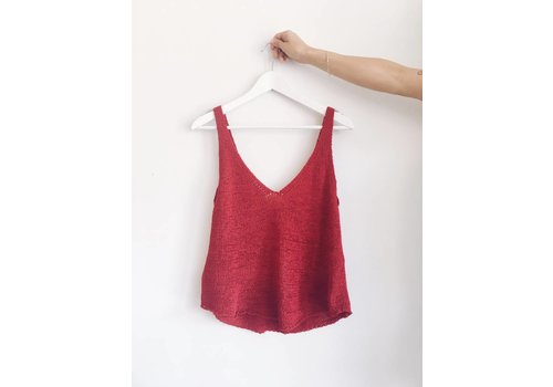 MINKPINK CAMISOLE FAR AWAY- ROUGE