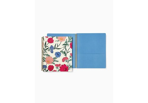 KATE SPADE LARGE SPIRAL NOTE BOOK- BLOSSOM