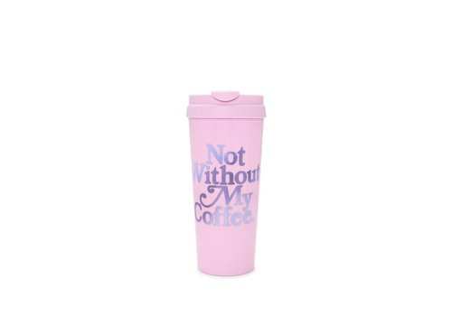BAN.DO THERMAL MUG-NOT WITHOUT MY COFFEE
