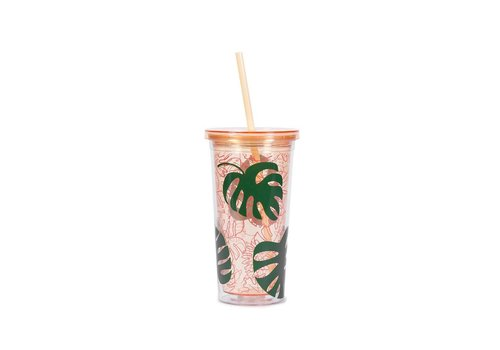 BAN.DO SIP SIP TUMBLER- MONSTERA