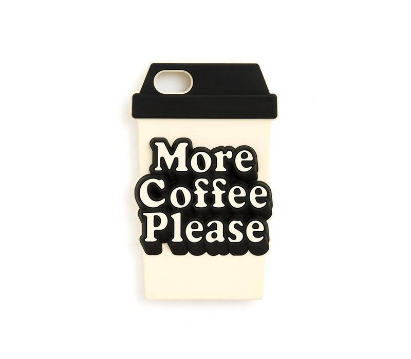 IPHONE CASE MORE COFFEE