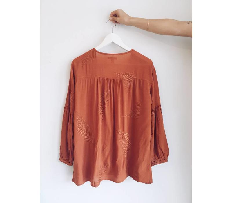 BLOUSE CLEAR SKIES