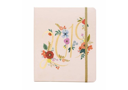 RIFLE PAPER CO AGENDA 2019 BOUQUET