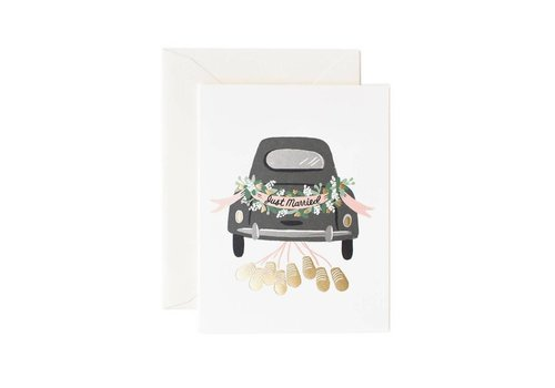RIFLE PAPER CO CARTE JUST MARRIED