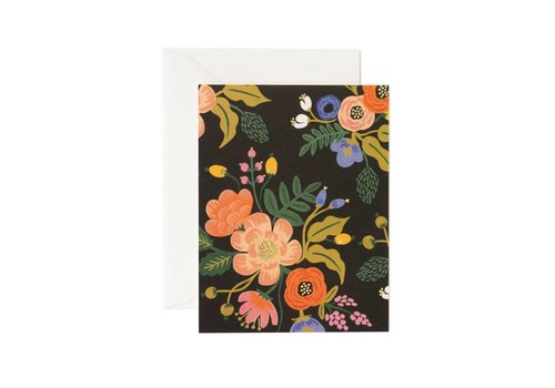 RIFLE PAPER CO CARTE LIVELY BLACK
