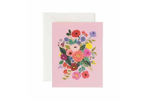 RIFLE PAPER CO CARTE BOUQUET BONBON