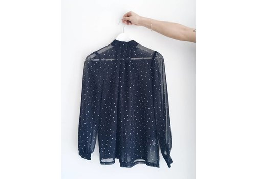 SOAKED IN LUXURY BLOUSE AGGIE