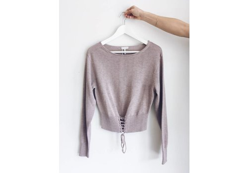 GENTLE FAWN *DRENIÈRE CHANCE*TRICOT THERESE- MAUVE-XSMALL
