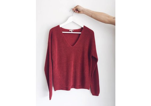 GENTLE FAWN TRICOT TUCKER- ROUGE