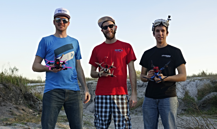 Team Falcon FPV Racing Pilots