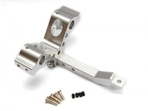 Boom Racing BRSCAC80136-01S 1/10 Scale RC Tow Hitch for Axial Vaterra RC4WD Tamiya Gmade Silver by Boom Racing