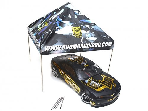Boom Racing BRSCAC100 Recon G6 1/10 Scale EZ Up Compact Pit Tent Adjustable Canopy Crawler & Drift by Boom Racing