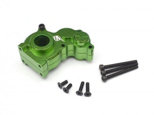 Boom Racing BR233005G Aluminum Center Gearbox Green RECON G6 The Fix Certified by Boom Racing