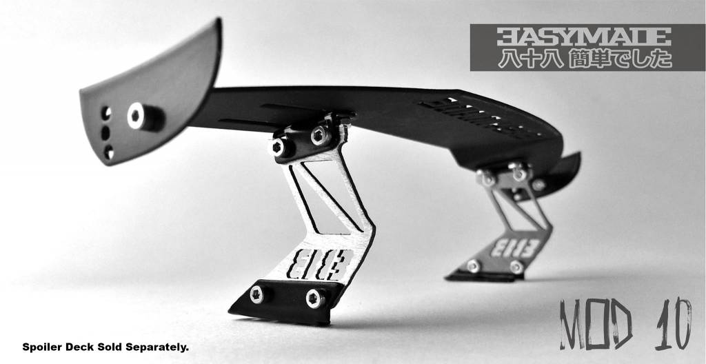 Easy88Made 1/10 Scale RC Drift Spoiler Mount #10 by Easy88Made