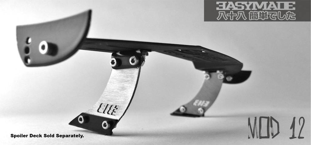 Easy88Made 1/10 Scale RC Drift Spoiler Mount #12 by Easy88Made