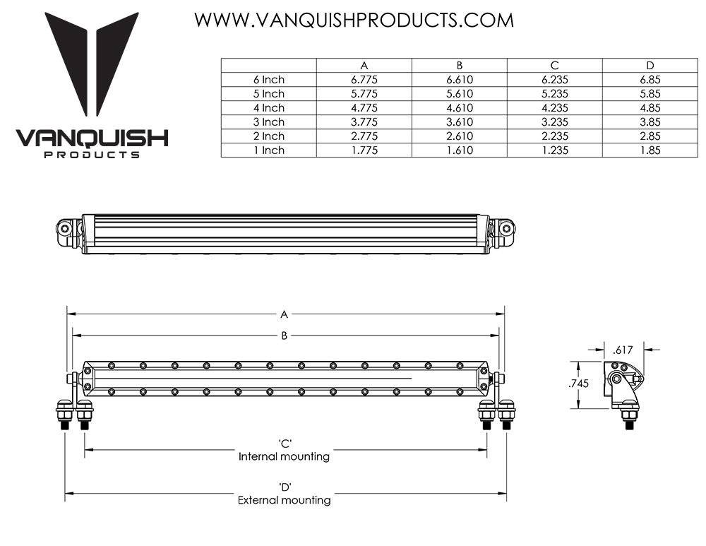 vanquish vps06755 rigid industries led light bar b vps06755 rigid industries led light bar black by vanquish falcon rigid industries wiring diagram at bayanpartner.co