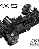 MST MXSPD532161G RMX-S High Performance Drift Car with Upgraded Aluminum Shocks and LSD 3.0 RS Gyro by MST