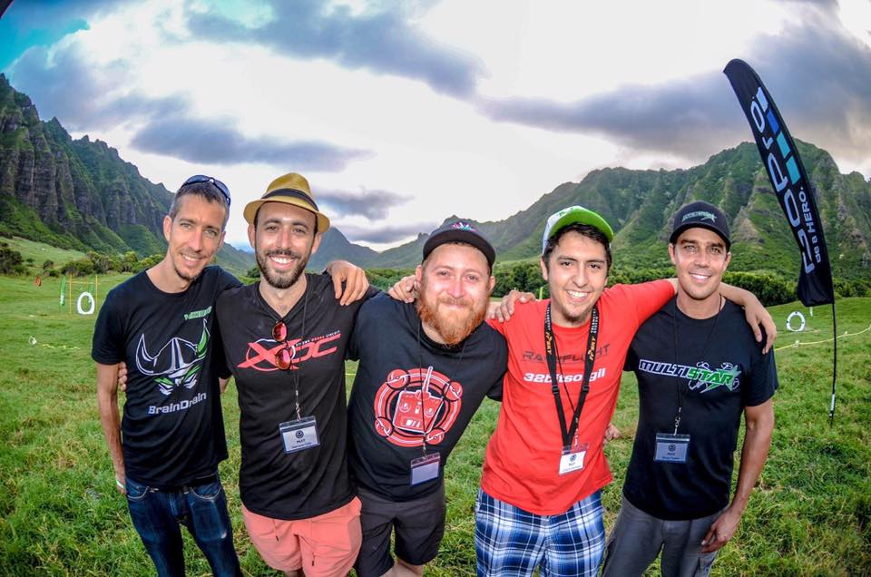 New Team Falcon Pilot, 32BitsofGil at Drone Worlds in Hawaii