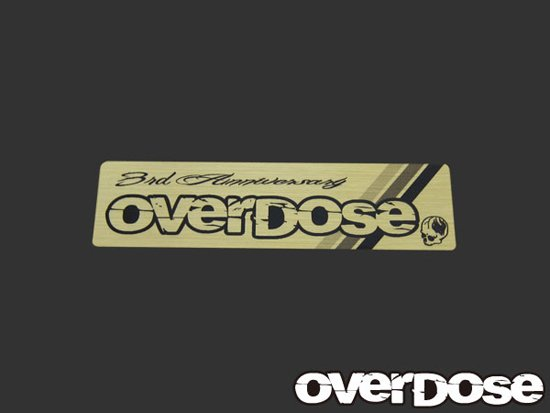 Od1455 3rd anniversary limited edition decal overdose od1455