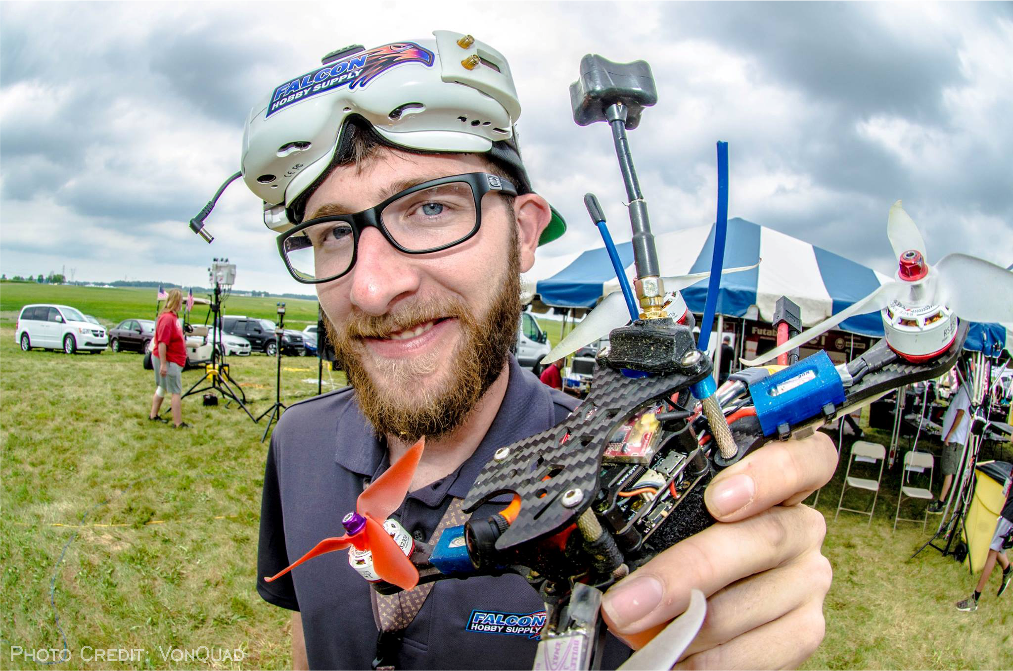 Team Falcon FPV Pilot Zach Carlson (FalconX) MultiGP International Open
