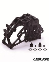 Usukani US88149 CF Open Type Rear Gear Box for YD-2 (Black) by Usukani *Pre-Order*