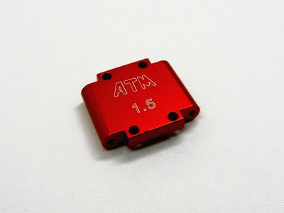 Atomic ATMDTL-009-O MICRO T/DT REAR PIVOT BLOCK - 1.5 Deg. (ORANGE) - ATOMIC DTL-009-O