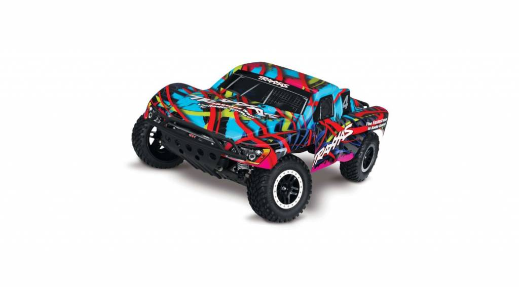 Traxxas TRA580345  Slash: 1/10-Scale 2WD Short Course Racing Truck with TQ 2.4GHz Radio System Traxxas