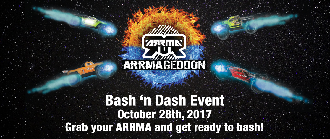 ARRMAGEDDON BASH N DASH Event Falcon Hobby Supply