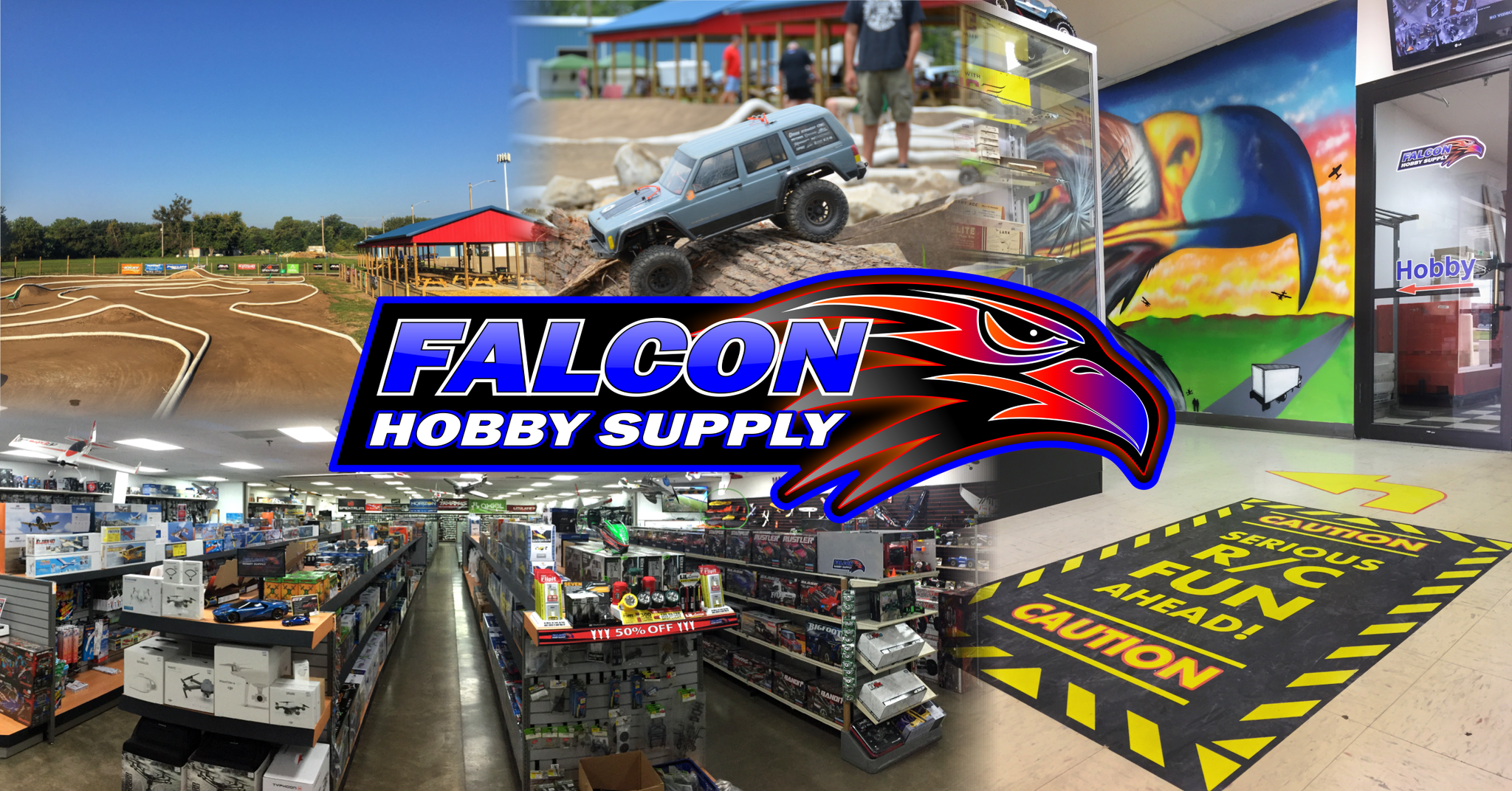 Falcon Roost Raceway RC Adventure Destination