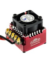 OMG OMGDR120AX1/RD 120 A Sensored Brushless ESC Red by OMG POLARIS-DR120AX1/RD
