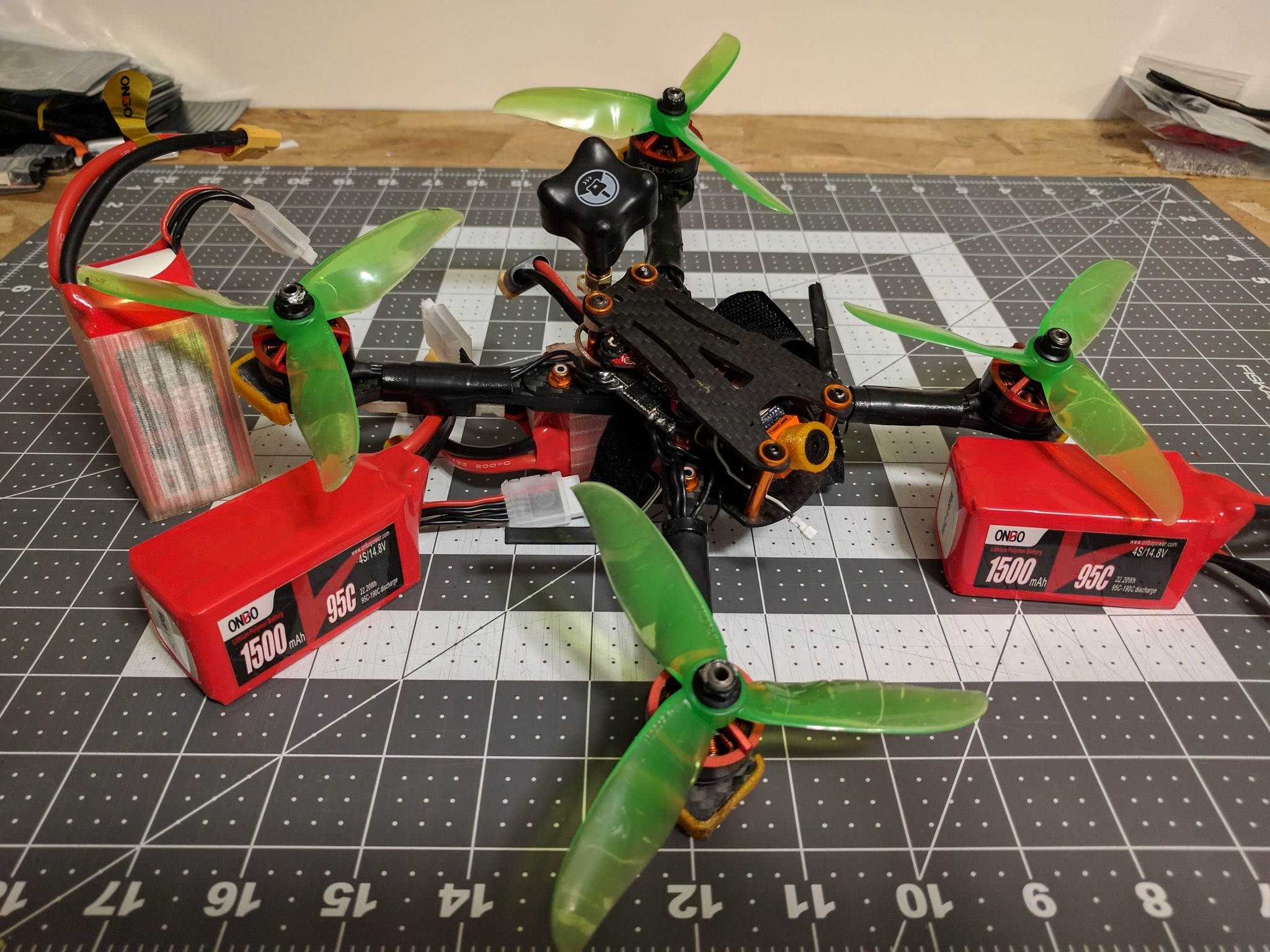 Jawz fpv quad for Team Onbo