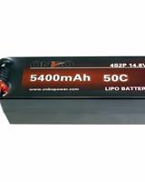 Onbo OP5400504S2PCAR 5400mAh 50C 4S 5mm bullet (hard case) by ONBO