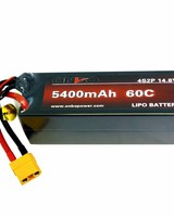 Onbo OP5400604S2PCAR 5400mAh 60C 4S 5mm bullet (hard case) by ONBO