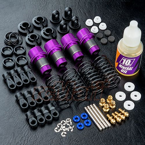 MST MXSPD820120P TR56 Alum. damper set (purple) (4) MST 820120P