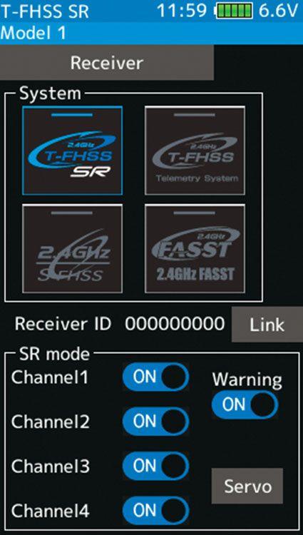 Futaba FUTK4908 7PX 2.4Ghz w/R334SBS Receiver Telemetry Futaba