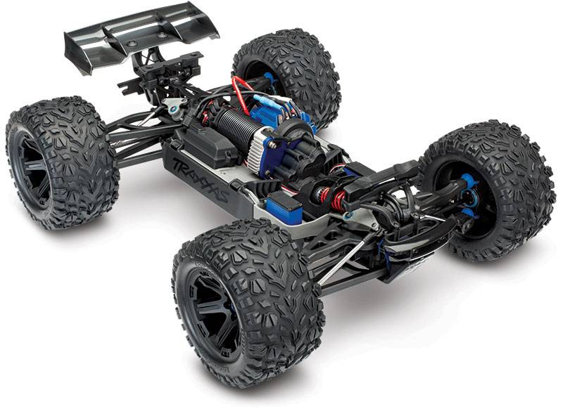 Traxxas Pre-Order Only - TRA860864 E-Revo VXL Brushless: 1/10 Scale 4WD Brushless Electric Monster Truck with TQi 2.4GHz Traxxas Link Enabled Radio System and Traxxas Stability Management (TSM) by Traxxas