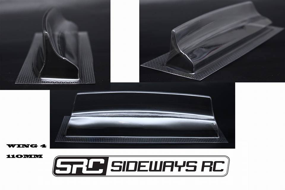 SRC SRCDKT4 DUCKTAIL WING 4 110MM BY SRC